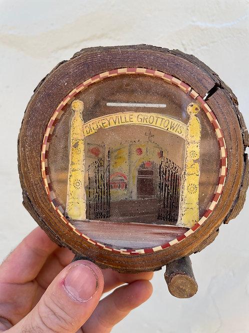 Souvenir Coin Bank from Dickeyville Grotto Self-Taught Art Environment