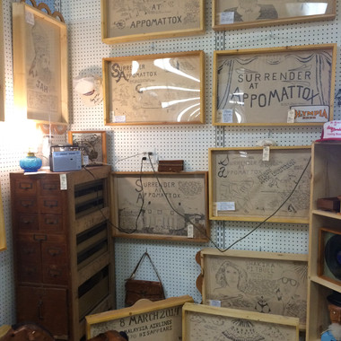 Be Real Exhibition @ Antique Mall of Madison