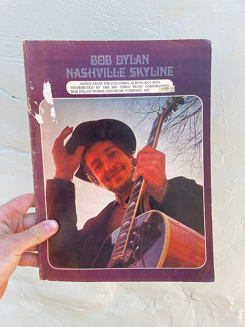 "Original Bob Dylan ""Nashville Skyline"" Songbook"