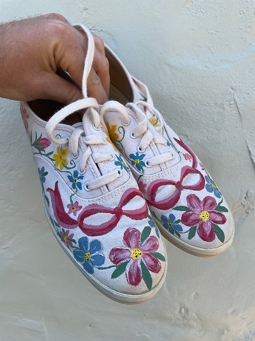 Tricked Out Flower Keds Size 8