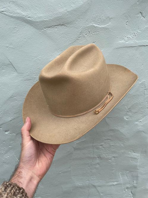 Beautiful 1960's Resistol Beaver Felt Cowboy Hat