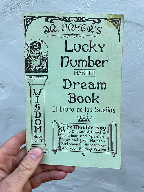 1956 Fortune Telling Book
