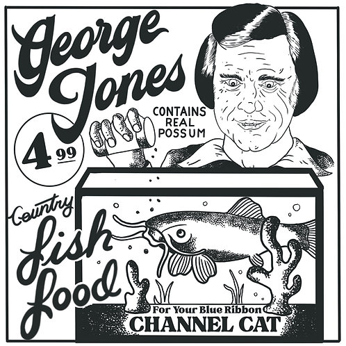George Jones Country Fish Food Shirt