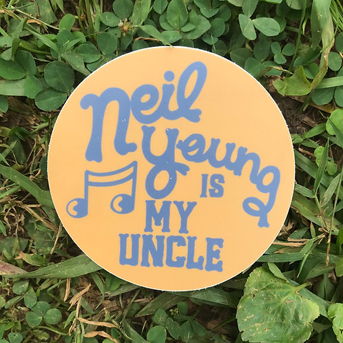 Fun Uncle Sticker