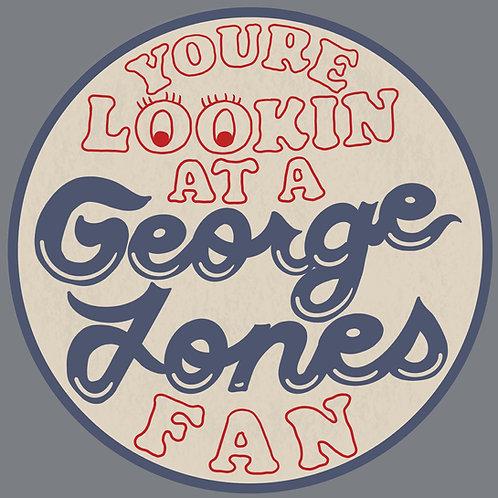 George Jones Fan Stickers