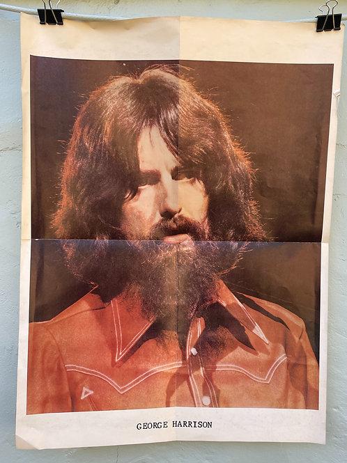 George Harrison Original Promo Poster