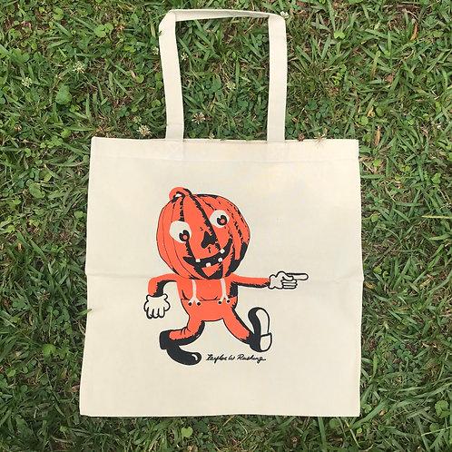 Pumpkin Man Tote