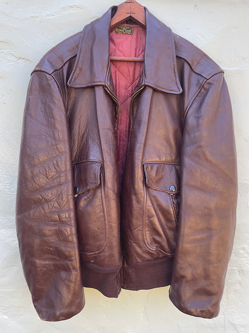 Late 50's/Early 60's Horsehide Bomber Jacket