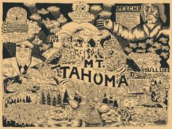 Mt. Tahoma Print