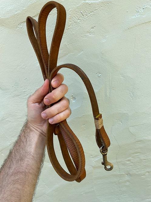 Vintage Leather Handmade Dog Leash