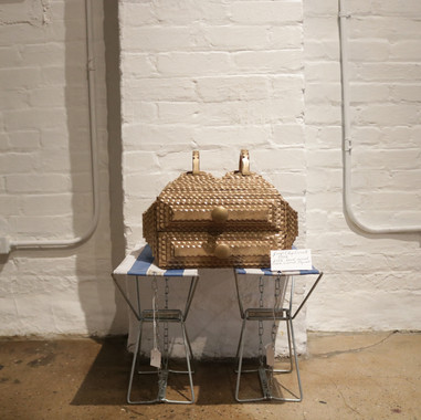 First Tramp Art Box