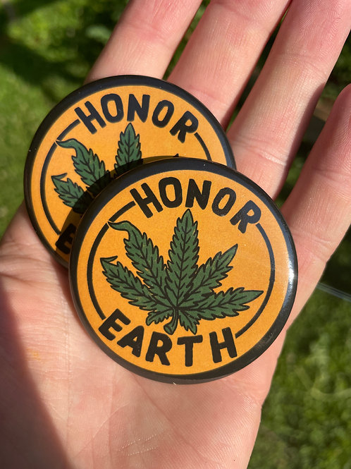 Honor Earth Buttons!!