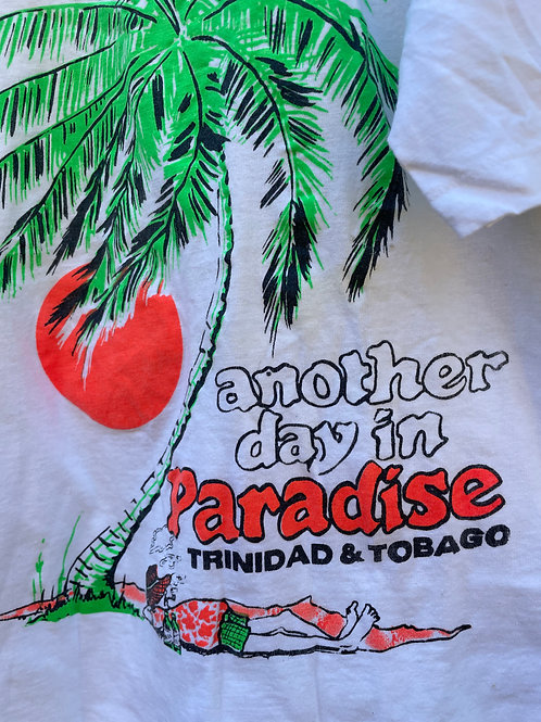 Deadstock T-Shirt from Trinidad and Tobago 70's