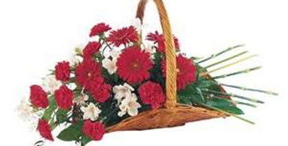 Fireside Funeral Basket