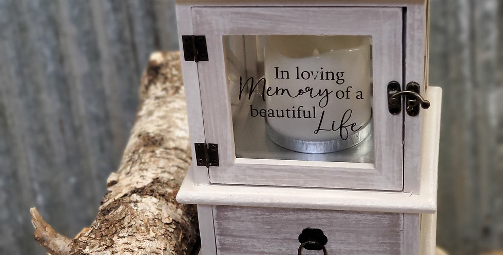 LED Lantern and Keepsake box