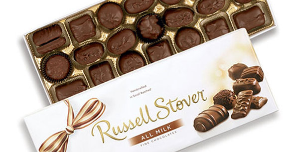 12oz Russell Stover boxed candy