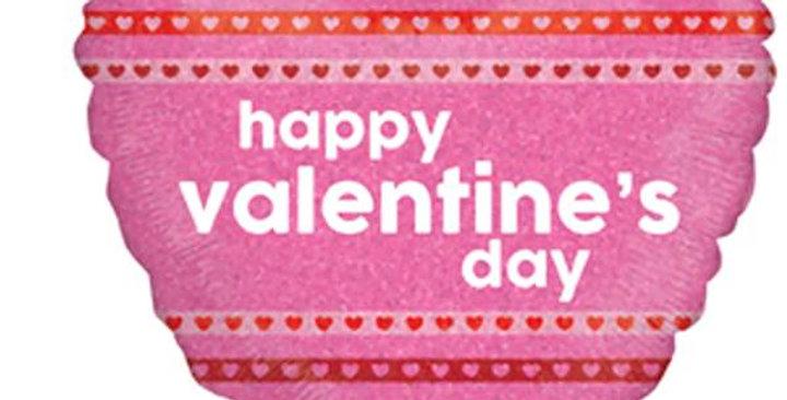 """18"""" Mylar Valentine Balloon"""