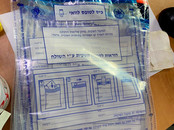 Bolsas de plastico para guardar los cont