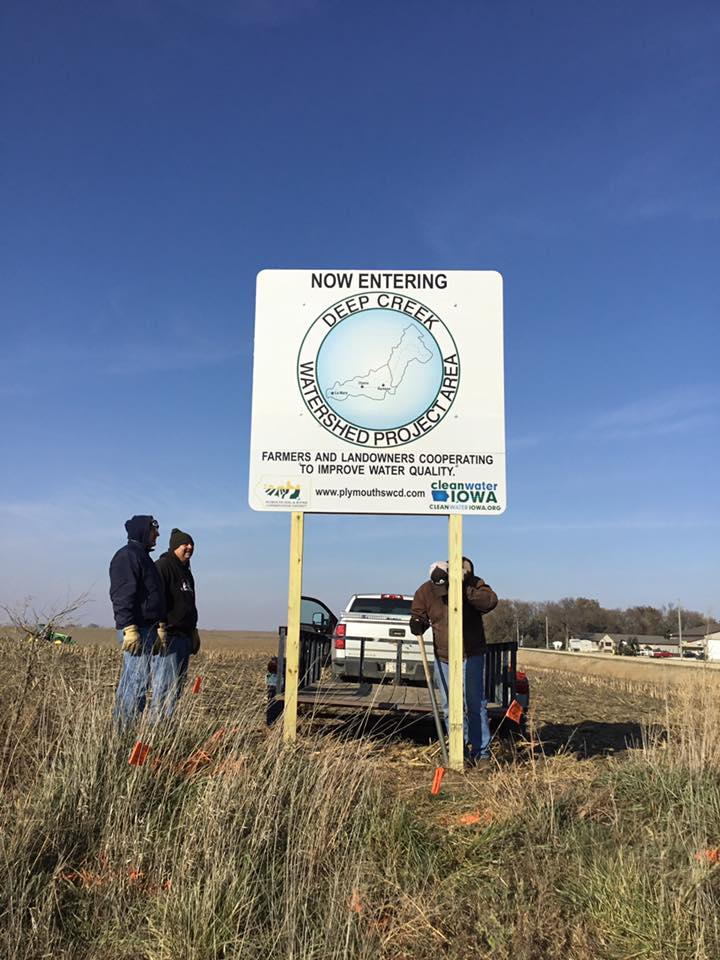 Deep Creek Sign