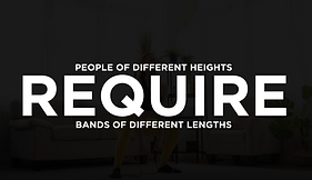 Vet-Bands (People Require Diff Lengths).