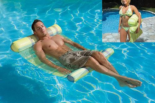 Poolmaster Wasserliege grün