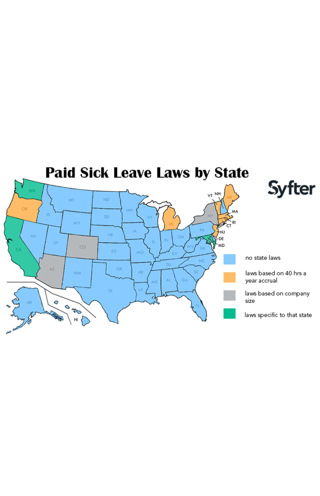 The True Cost of a Remote Hire - Know the State Laws: Paid Sick Leave