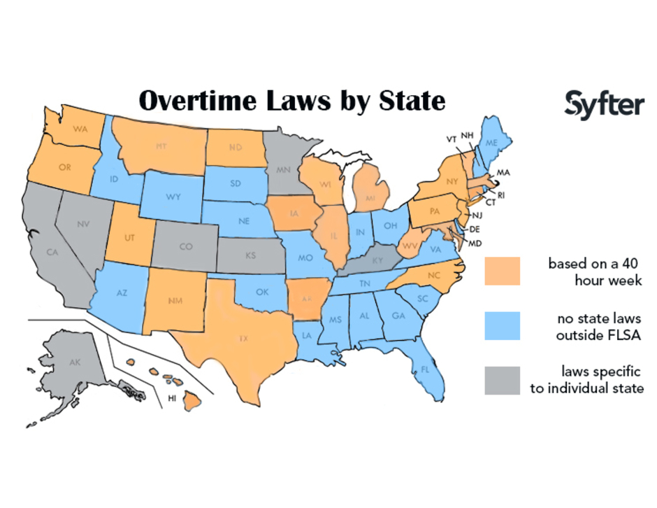 The True Cost of a Remote Hire - Know the State Laws: Overtime