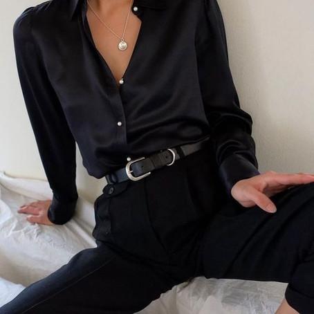 """Women who wear black live colorful lives"" - Neiman Marcus"