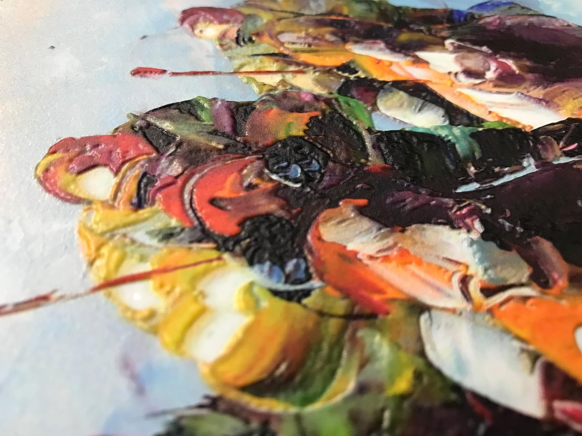 Canvas Texture Print