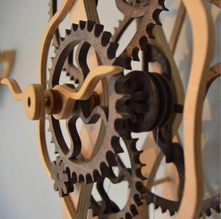 Wood Cutting 3 (Clocks)