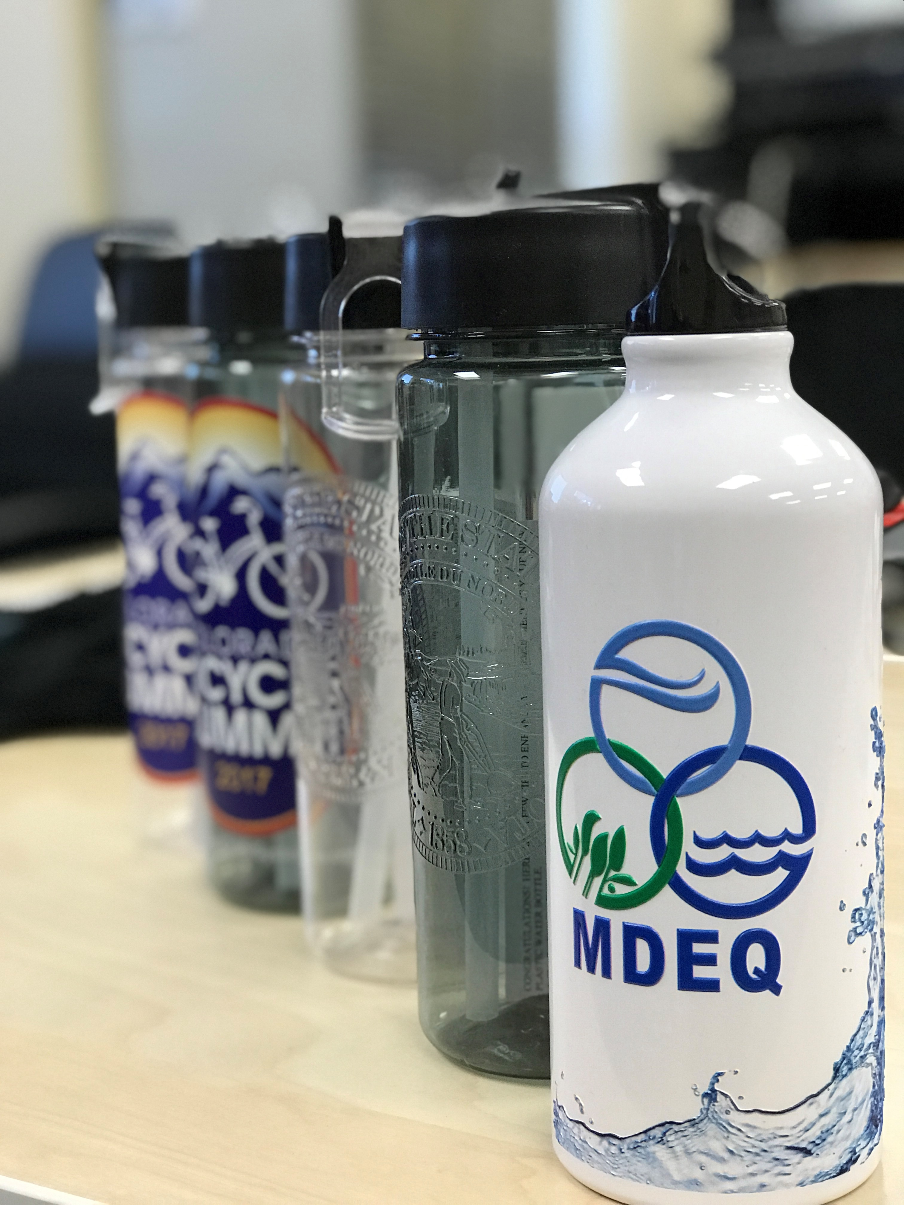 DCS printed bottles