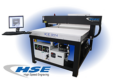 Kern Laser Systems HSE engraving and cutting