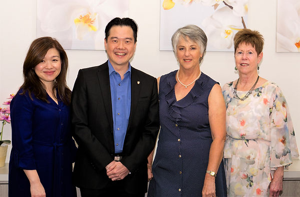 Dr Ming Yew and team