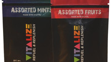 INTRODUCING VITALIZE MINTS, NOT YOUR AVERAGE CANDY MINT