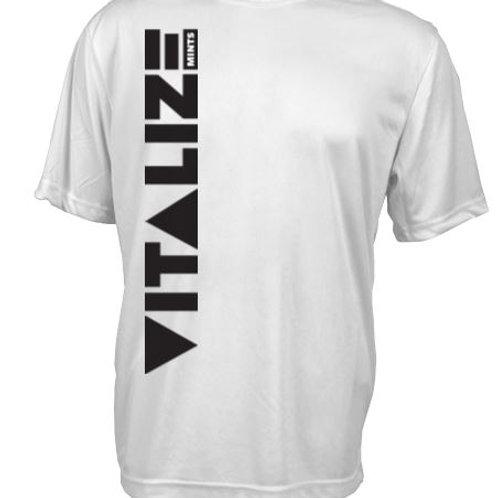 Men's Dri Fit Performance Shirt White/Black