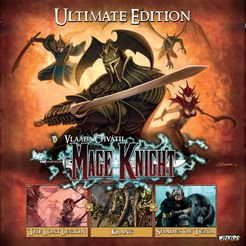 Mage Knight: Ultimate Edition (2016) with a Guide!