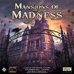 Mansions of Madness: Second Edition (2016) with a Guide!