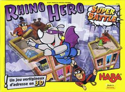 Rhino Hero: Super Battle (2017) with a Guide!