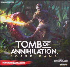 Dungeons & Dragons: Tomb of Annihilation (2017) with a Guide!