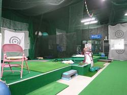 ゴルフ打席