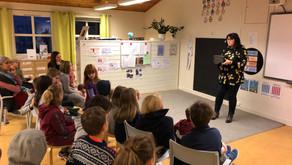 Forfattarbesøk av Vidar Bratlund-Mæland og Bente Bratlund