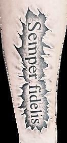 saying tattoo | hautnah ebersbach