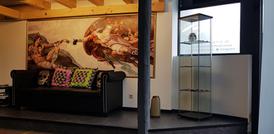 eingangshalle tattoo studio