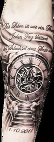 clock tattoo | hautnah ebersbach