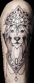 lion tattoo | hautnah