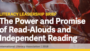 The Power of Read Alouds and Independent Reading