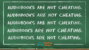 No, Audiobooks are not cheating!
