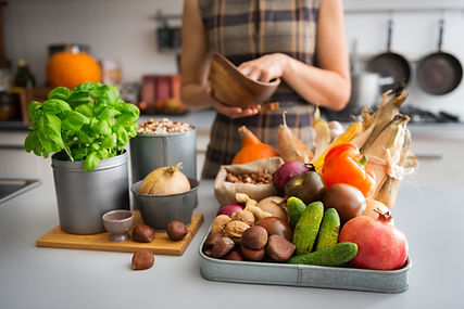 Cuisson nutritionnelle basilic main salasier