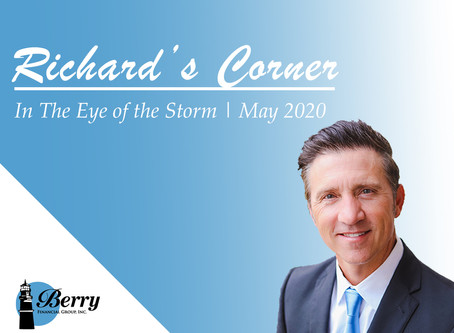 Richard's Corner | In the Eye of the Storm