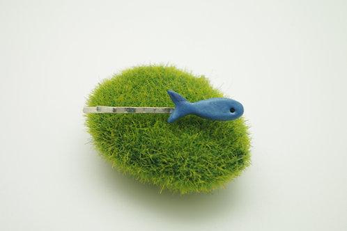 BARRETTE mini clip poisson